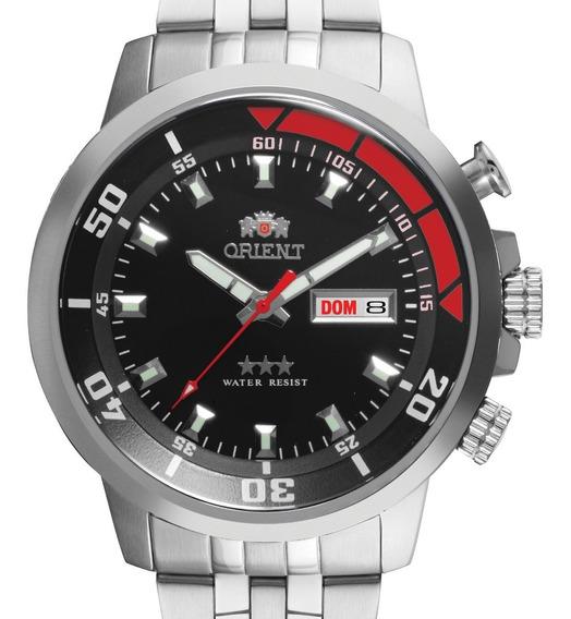 Relógio Orient Masculino Automático 469ss058 P1sx + Nf