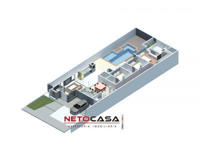 Casa Em Condomínio Para Venda, Cond. Monte Carlos, 3 Dormitórios, 3 Suítes, 5 Banheiros, 2 Vagas - Cac0181