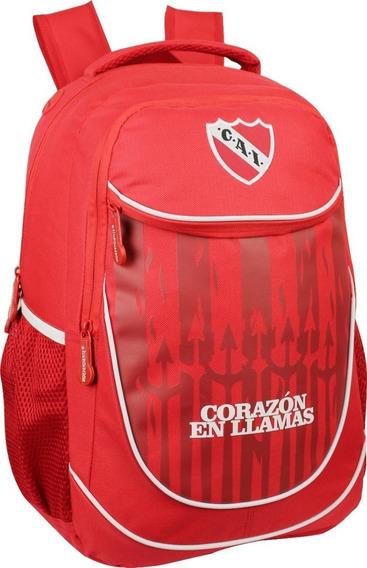 Mochila Independiente Original Corazón En Llamas In10
