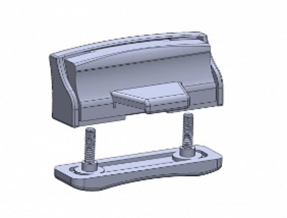 110305643 Puxador Janela Rodoviario G6 Completo