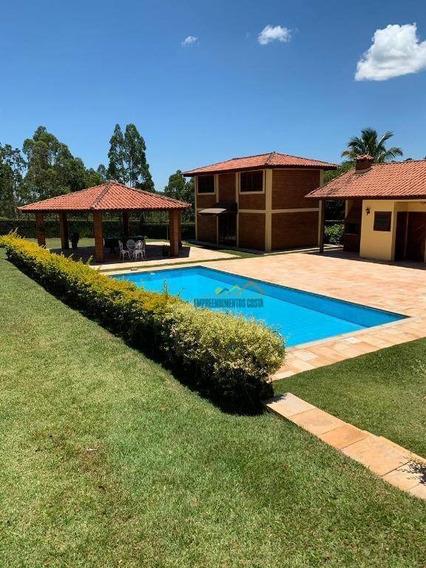 Chácara Com 4 Dormitórios À Venda, 2540 M² Por R$ 795.000 - Pinheirinho - Itu/sp - Ch0125