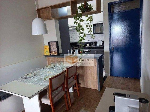 Imagem 1 de 20 de Apartamento Com 2 Dormitórios À Venda, 60 M² Por R$ 360.000,00 - Vila Industrial - Campinas/sp - Ap8018