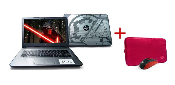 Laptop Hp 14 Pulg, 500gb+32gb Ssd, 4gb Ram, W10