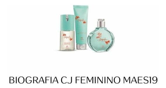 Kit Natura Biografia Feminino Com 4 Itens Presente Mães