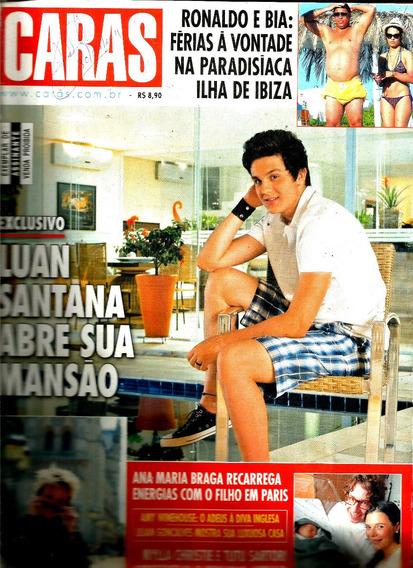 Revista Caras 925/11 - Luan Santana/xuxa/bruna Lombardi/myla