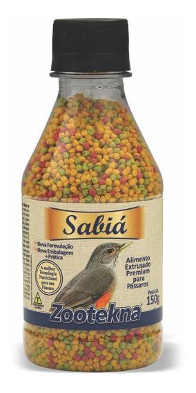 Alimento Extrusado Premium Para Sabiá - 150 G