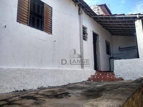 Casa Para Alugar, 40 M² Por R$ 800,00/mês - Parque Brasília - Campinas/sp - Ca14848