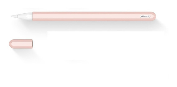 Capa Protetora Para Apple Pencil 2 Segunda Geração Em Silicone Rock Original