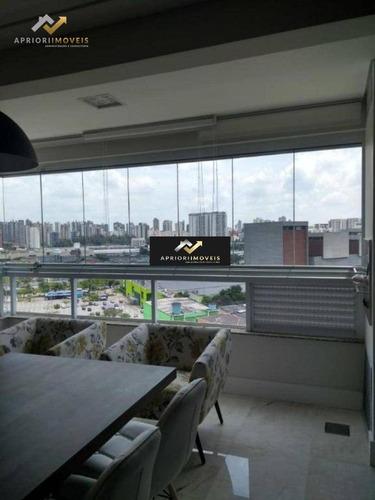 Cobertura Com 3 Dormitórios À Venda, 162 M² Por R$ 1.198.000 - Bangu - Santo André/sp - Co0201