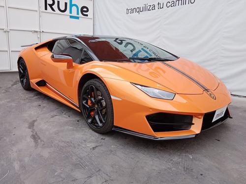 Imagen 1 de 15 de Lamborghini Huracán 2017 5.2 Lp 580-2 At