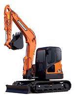 Mini Excavadora Doosan Nueva Dx80