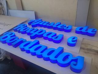 Letra Caixa Com Iluminação Letras Letreiro Fachada