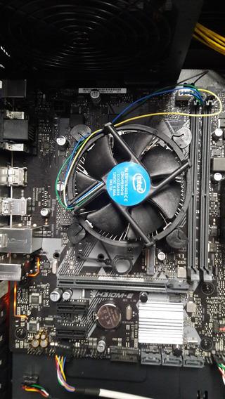 Intel I5 8600 8ª Geração Mb Asus H310m-e Faço R$1280