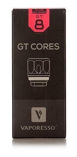 3 Resistência Coil Vaporesso Gt Cores Gt8