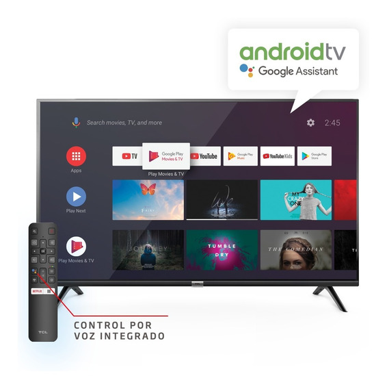 Smart Tv Android Tcl 43 Wifi Bluetooth Youtube Netflix Fhd
