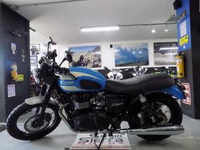 Triumph Bonneville Azul 2015 Edición Especial