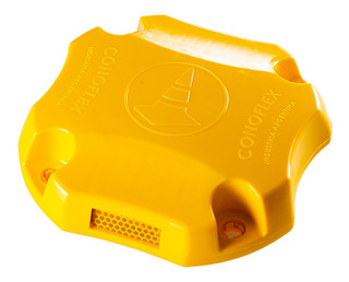 Tacha Reductora Velocidad Light Reflectiva Tortuga Conoflex
