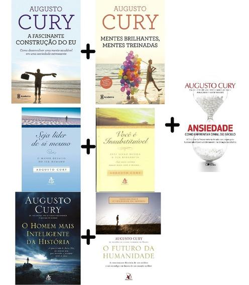 Augusto Cury 7 Livr Fascinante; Mentes Brilhantes; Ansiedade
