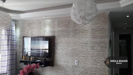 Apartamento Com 2 Dormitórios Para Alugar, 49 M² Por R$ 1.500/mês - Jardim Bela Vista - Guarulhos/sp - Ap0011