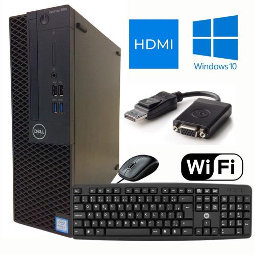 Imagem 1 de 6 de Pc Cpu Intel I5 8º Geração 8gb Ddr4 Ssd 240gb + Hdmi + Wi-fi
