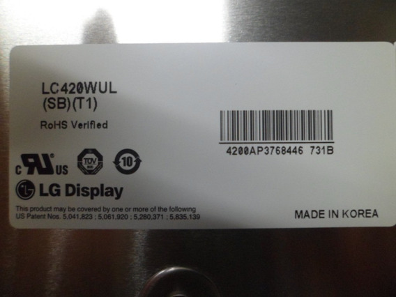 Tela Display Lg 42sl90qd Lc420wul(sb)(t1)
