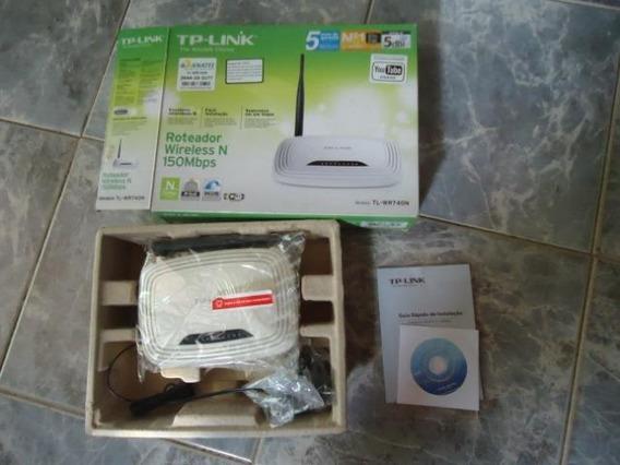 Roteador Tp-link 150mbps Wireless(usado)