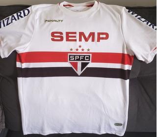 Camisa São Paulo 2014 #6 Alvaro Pereira Oficial De Jogo