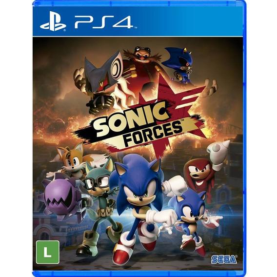 Sonic Forces Ps4 Lacrado