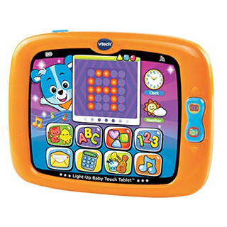 Vtech Light-up Baby Touch Tablet, Naranja