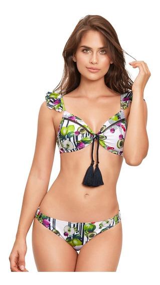 Vestido De Baño Babalú Mujer Nylon Spandex Talla 32-34-36
