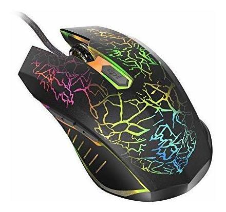 Mouse Para Juegos Bengoo Con Cable, Mouse Optico Para Comput
