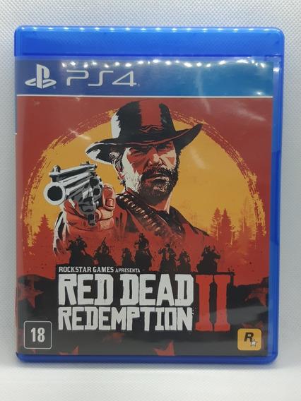 Red Dead Redemption 2 Ps4 Incluso Mapa Mídia Física