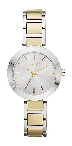 Dkny Ny2401 Reloj Stanhope, Redondo, Análogo Para Mujer
