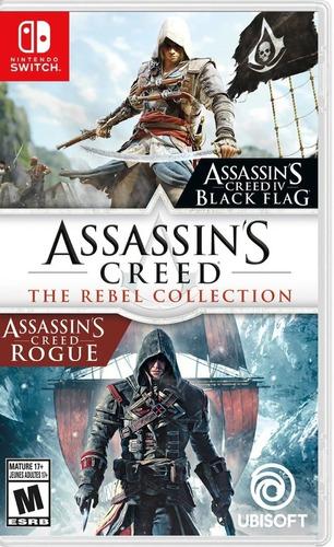 Imagen 1 de 5 de Assassins Creed The Rebel Collection Nintendo Switch Fisico