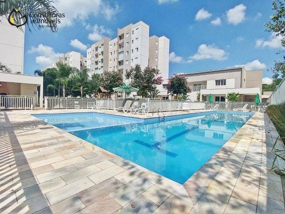 Apartamento Com 3 Dormitórios À Venda, 69 M² Por R$ 430.000,00 - Residencial Premiere Morumbi - Paulínia/sp - Ap0375