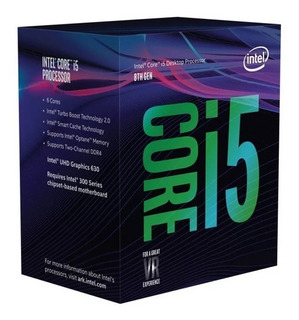 Micro Procesador Intel I5 9400f 4.0ghz Coffe Lake 1151 Envio
