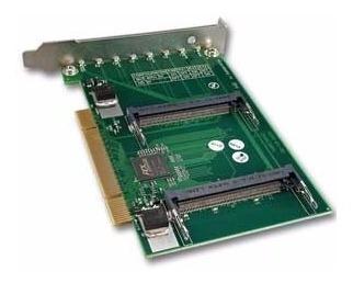 Routerboard 14 Adaptadora Com 4 Slots Mini-pci - Mikrotik