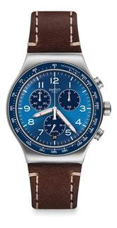 Reloj Swatch Hombre Casual Blue Yvs466