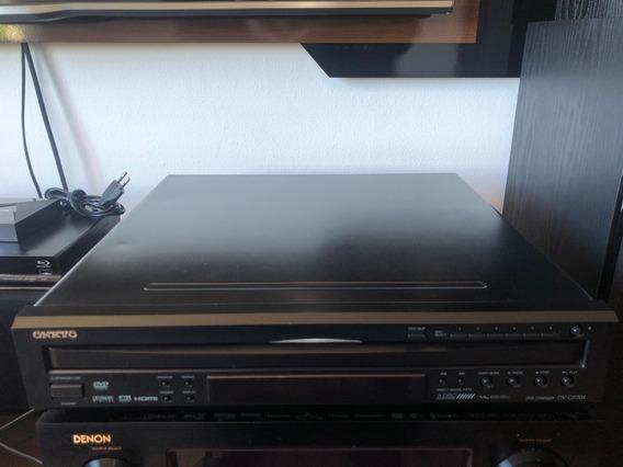 Dvd /cd Changer Onkyo Dv-cp704 - 6 Discos
