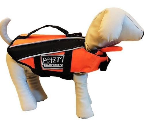 Colete Flutuador Salva Vidas Para Cachorro Petzim P 5-8 Kg