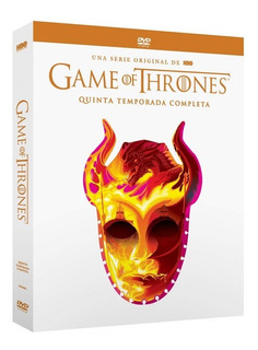 Game Of Thrones Juego Tronos Temporada 5 Nueva Edicion Dvd