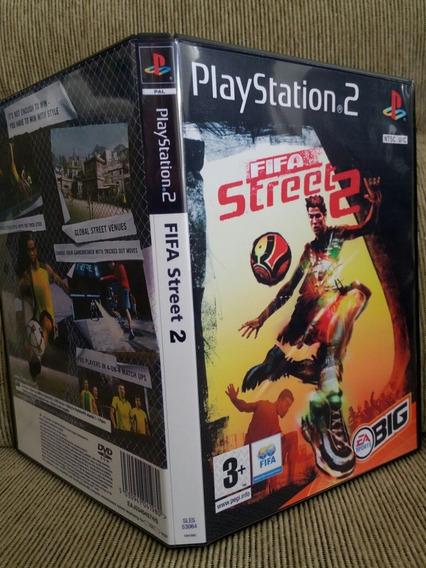 Fifa Street 2 Para Playstation 2 - Patch