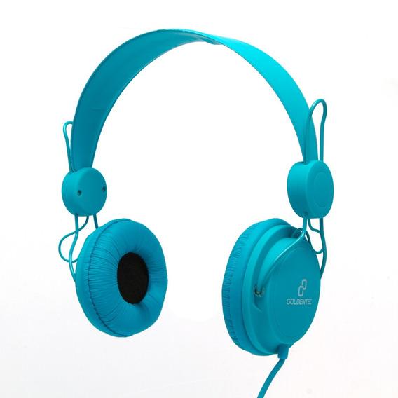 Headset Goldentec Gt Soul Colors Azul