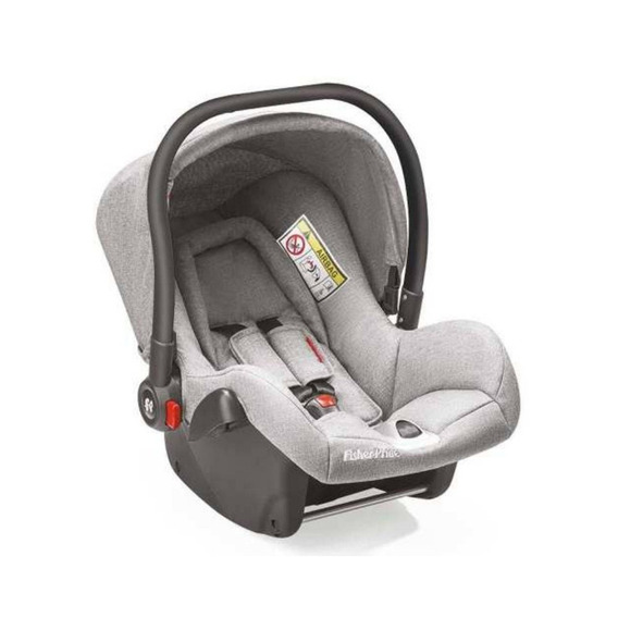 Bebê Conforto Fisher-price Cinza + Base Isofix Heritage