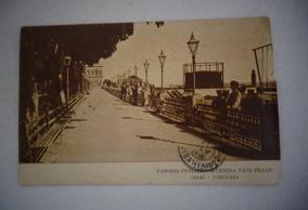 Cartão Postal Ceará Passeio Publico Av Caio Prado1918