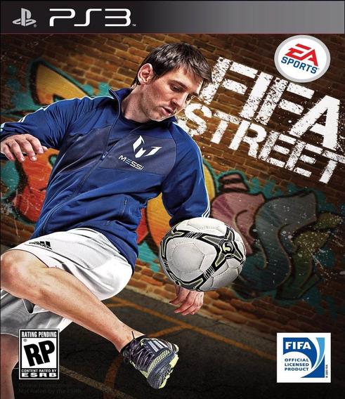 Jogo Novo Mídia Física Fifa Street Para Playstation 3 Ps3