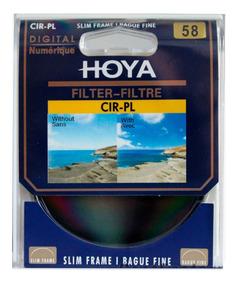 Filtro Polarizador Circular Slim 58mm Hoya