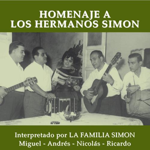 Familia Simón - Homenaje A Los Hermanos Simón - Cd