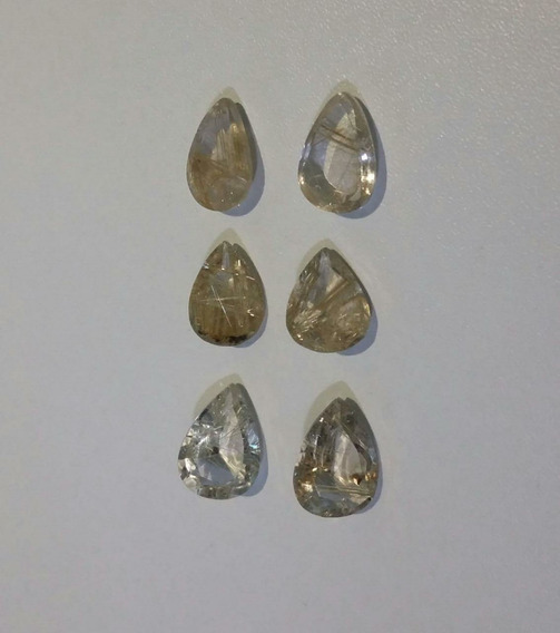Quartzo Rutilado Rutilo Transparente Extra Mineral Ct