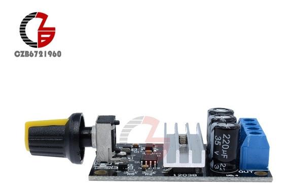 6-28 V 3a 80 W Pwm Dc Controlador De Velocidade Do Motor